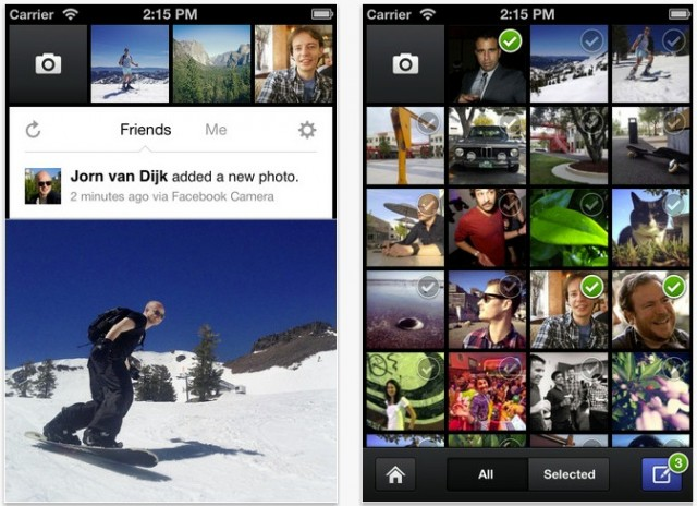 Faceboook Camera