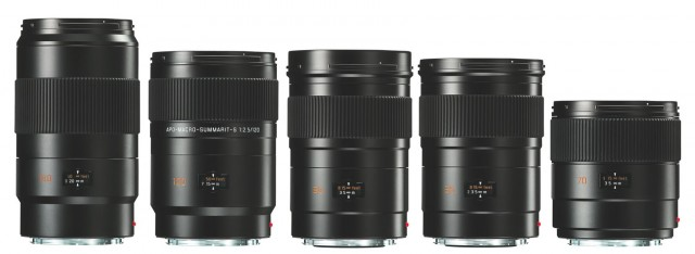 Leica S System Lenses