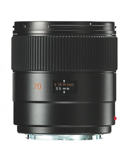 Leica Summarit 70 mm ASPH front