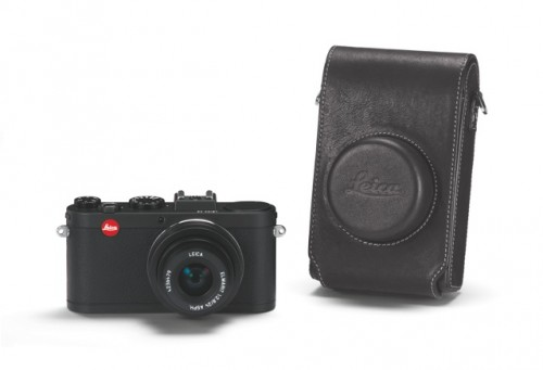 Leica X2 Black leather case