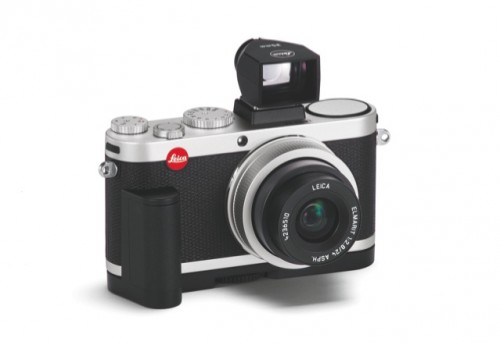 Leica X2 Silver handgrip   viewfinder