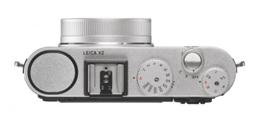 Leica X2 Silver top_2