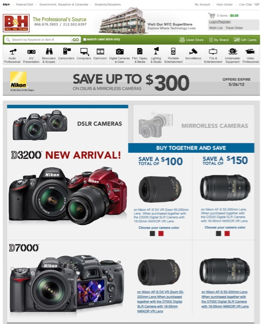 Nikon Instant Rebates