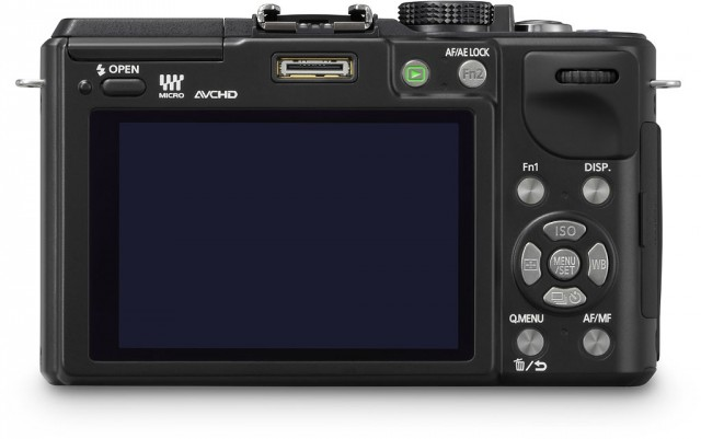 Panasonic GX1 Touch Screen