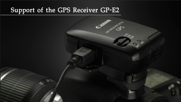 Canon 7D with GP-E2 GPS Receiver
