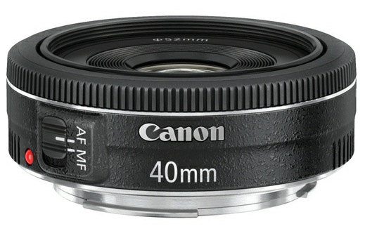 Canon EF 40mm f/2.8 STM Lens