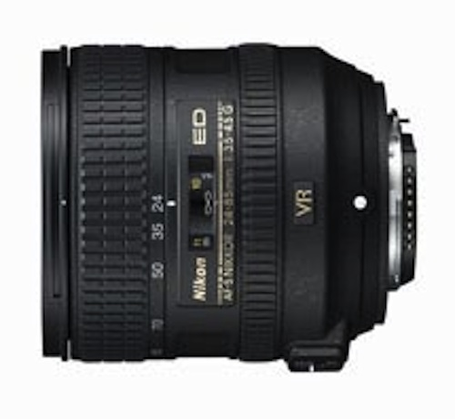 Nikkor AF-S 24-85mm f/3.5-4.5G ED VR