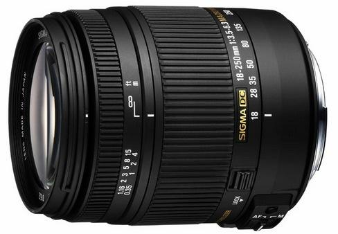 Sigma 18-250mm f:3.5-6.3 DC OS MACRO Lens