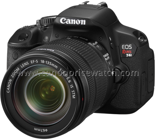 Canon Rebel T4i and 18-135mm IS II Lens