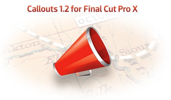 Callouts for Final Cut Pro X