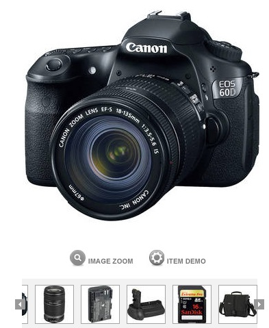 Canon 60D Bundle