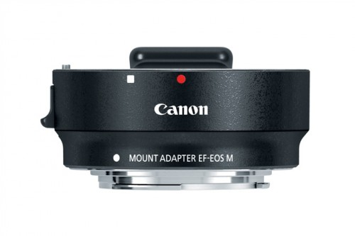 Canon EF-EOS M Adapter Top