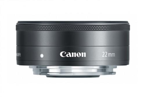 Canon EF-M 22mm Lens Side