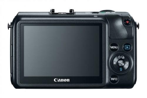 Canon EOS M Back