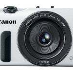 Canon EOS M White Front