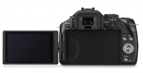 Panasonic Lumix G5 Back