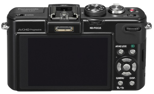 Panasonic Lumix LX7 Back