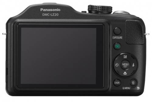 Panasonic Lumix LZ20 Back
