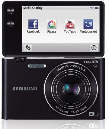 Samsung MV900F Display