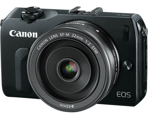 Canon EOS M Mirrorless Camera