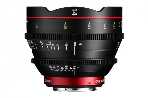 Canon Cine 14mm Side