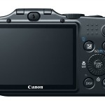 Canon SX160 IS Back