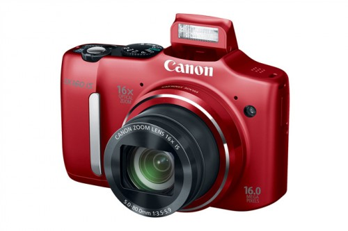 Canon SX160 IS Red