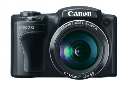 Canon SX500 Front
