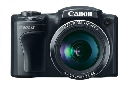 Canon SX500 Front