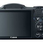 Canon SX500 IS Back