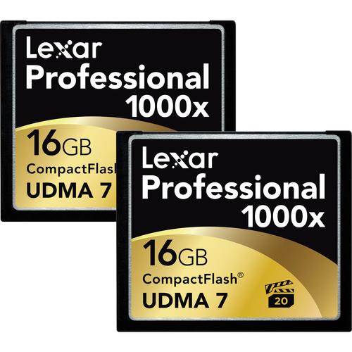 Lexar 16GB Professional 1000x