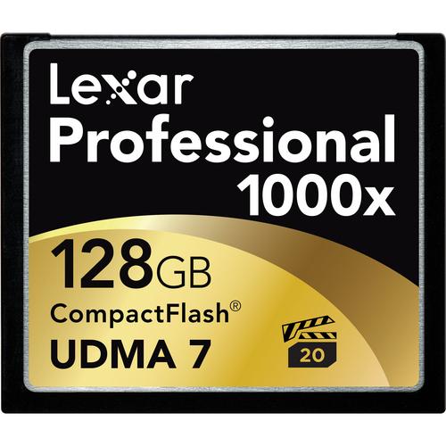Lexar Professional 128GB CF