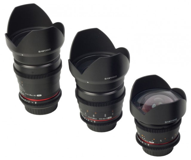 Samyang Cine Lenses