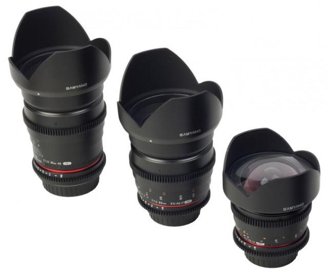 Samyang Cine Lenses