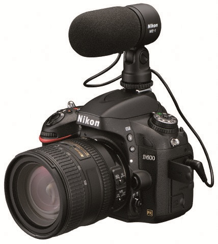 Nikon D600 w/ ME-1