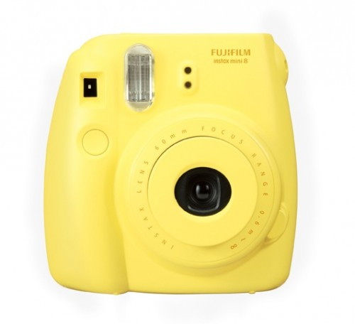 Fuji Instax Mini 8 Yellow