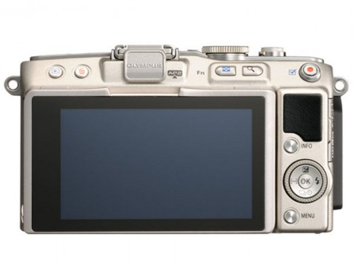 Olympus E-PL5 Back