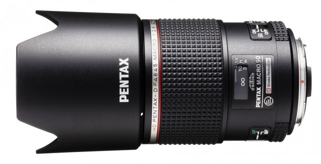 Pentax D FA 645 Macro 90mm F2.8 ED AW SR Lens