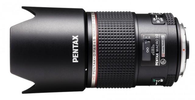 Pentax D FA 645 Macro 90mm F2.8 ED AW SR Lens