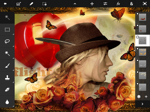 Photoshop Touch Screenshot