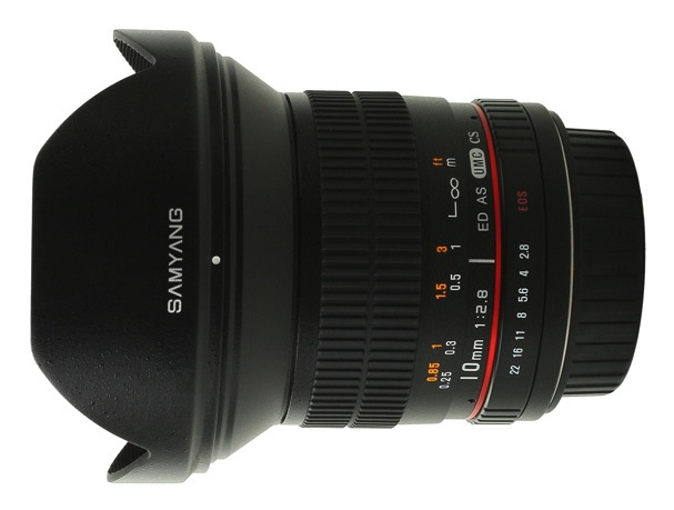 Samyang 10mm F:2.8 ED AS UMC CS Lens