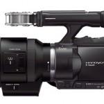 Sony NEX-VG30 Side