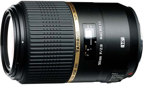Tamron SP 90mm F/2.8 Di VC USD
