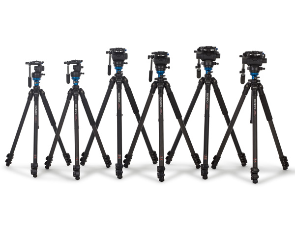 Benro Video Tripods