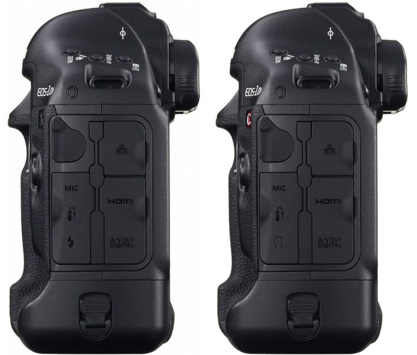 Canon 1D X and 1D C Port Comparison
