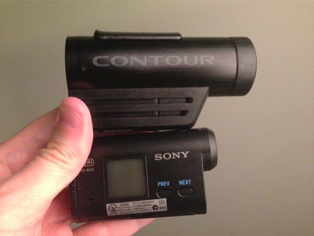 Sony HDR-AS15 Action Cam vs. ContourROAM