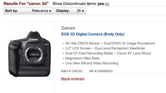 Canon 3D