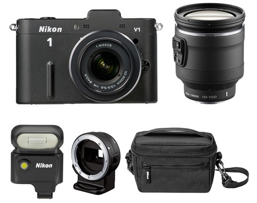 Nikon 1 V1 Bundle