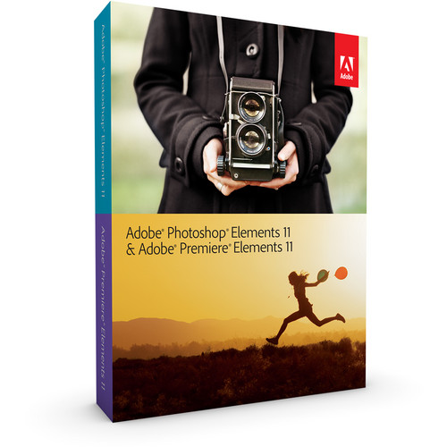 Adobe Photoshop Elements 11 & Adobe Premiere Elements 11 for $89.99 - Black Friday Deal