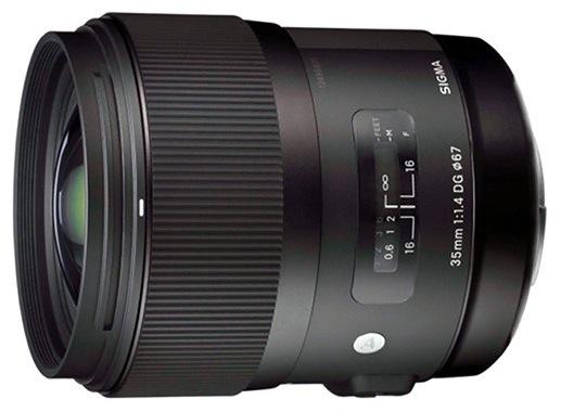 Sigma 35mm f:1.4 DG HSM Lens